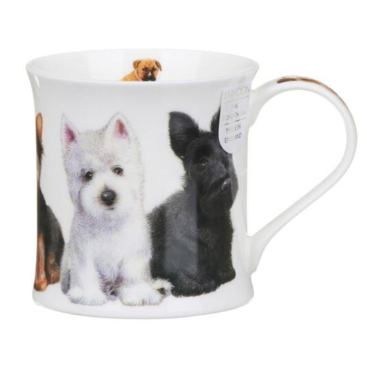 Puppies Westie Wessex Shape Mug