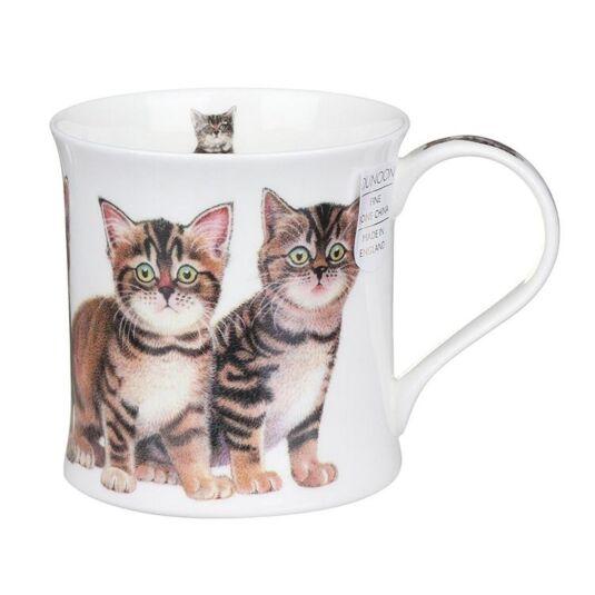 Kittens Tabby Wessex Shape Mug