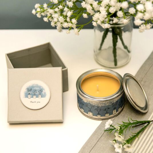 'Thank You' - Spiced Orange Candle