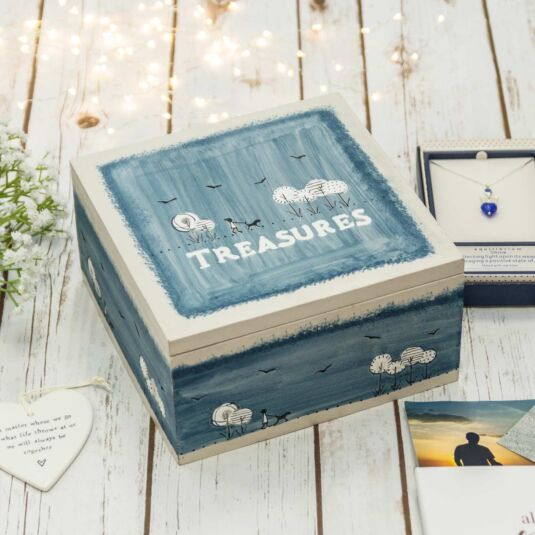 'Treasures' Keepsake Box