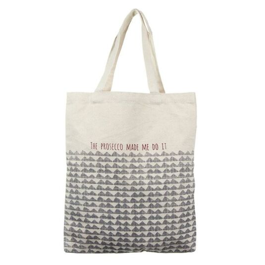 'The Prosecco Made Me Do It' Shopping Bag