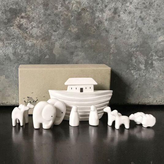 Porcelain Noah's Ark Set