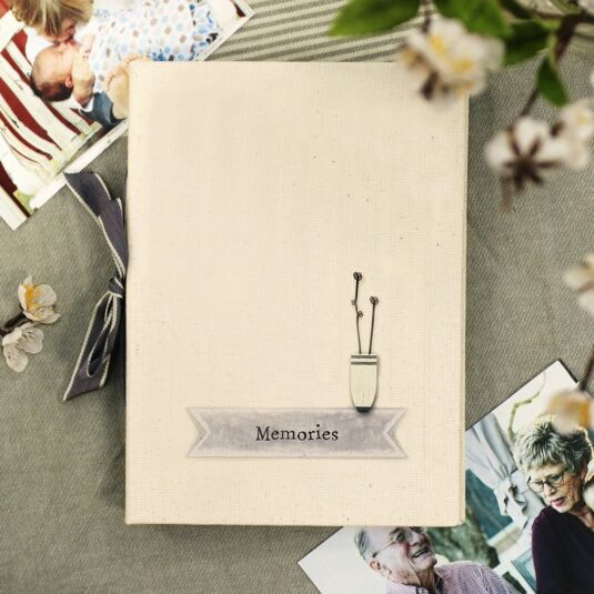 'Memories' Ribbon Photo Album
