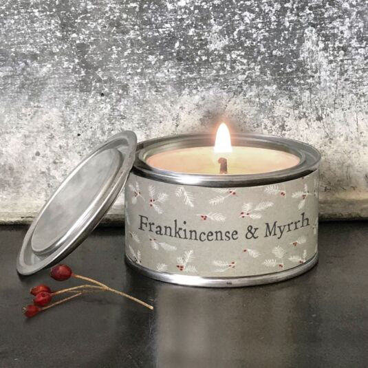 'Frankincense & Myrrh' Christmas Candle