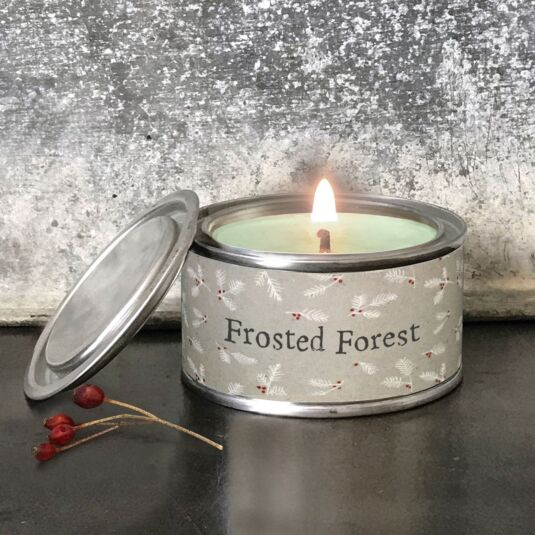 'Frosted Forest' Christmas Candle