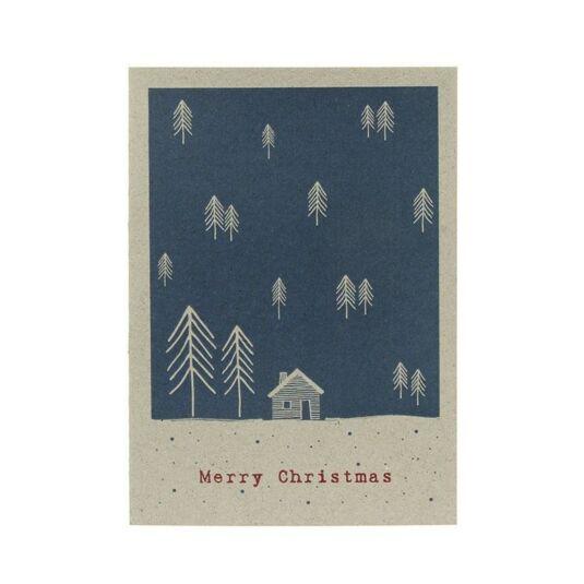 Winterland Card – Midnight Forest