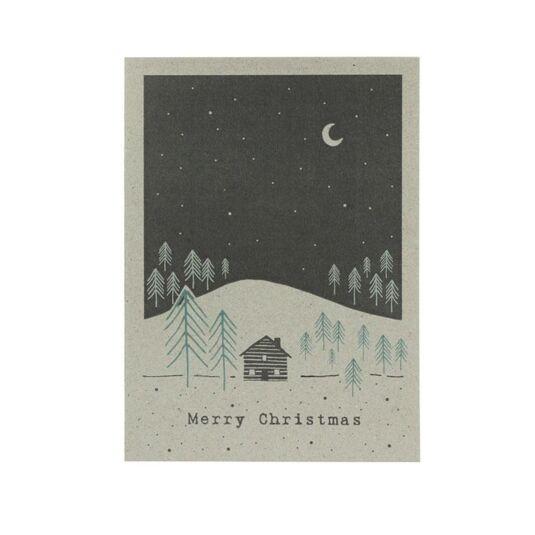 Winterland Card – Hillside House