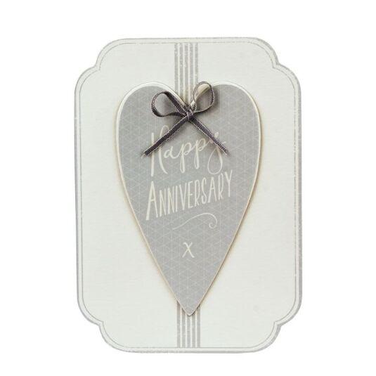 Anniversary Italic Heart Card
