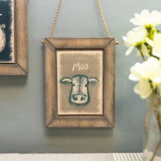 Cow Hanging Picture