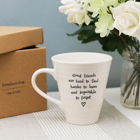 Good Friends Porcelain Mug