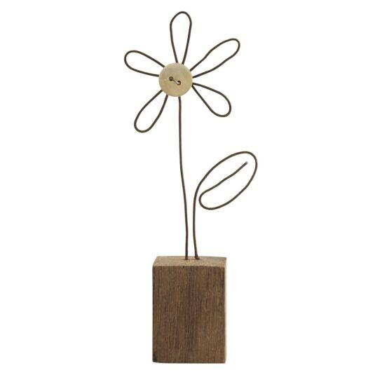 Wire Flower Decoration