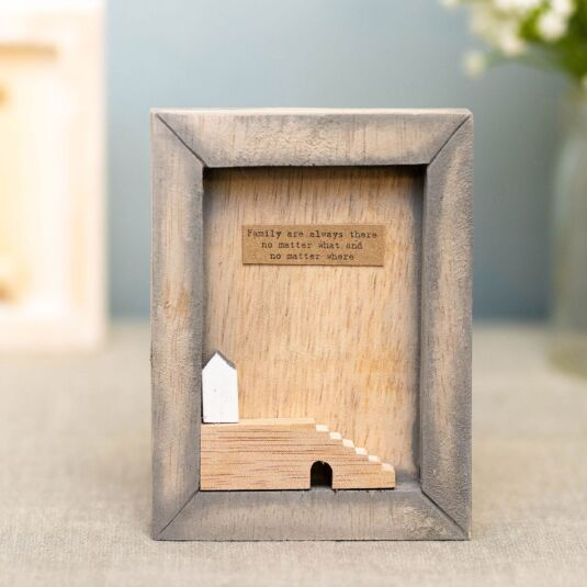 'Family Always There' Box Frame