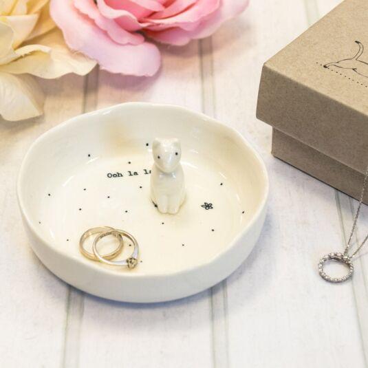'Oh La La' Boxed Jewellery Dish