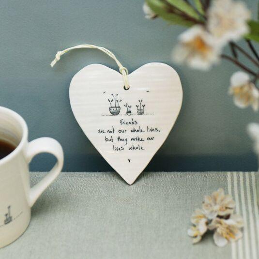 'Make our lives whole' Porcelain Heart