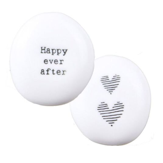 'Happy Ever After' Sentimental Pebble