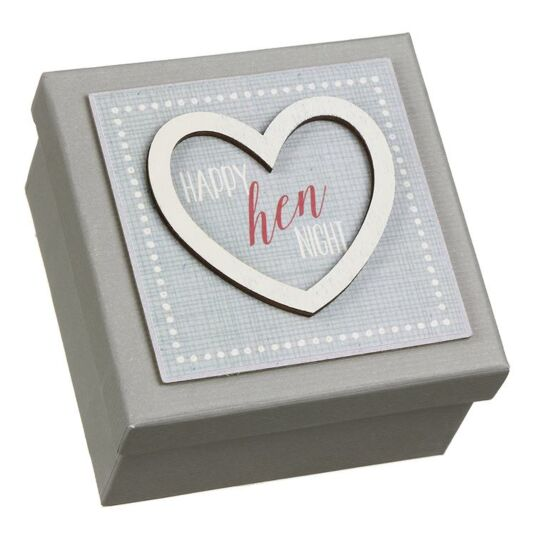'Hen Night' Heart Gift Box