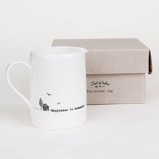 'Happiness is Homemade' Small Boxed Jug