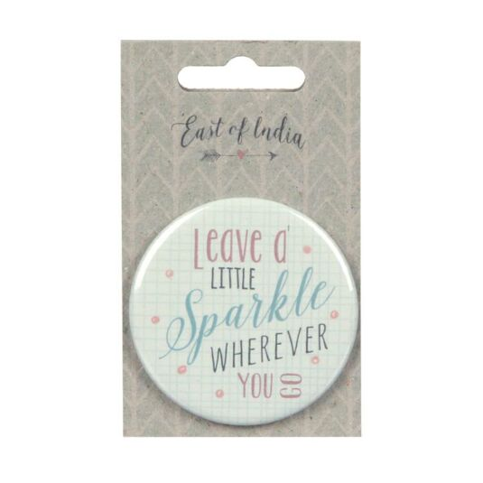 Sparkle Little Round Mirror