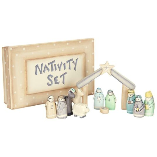 Nativity Set in a Box
