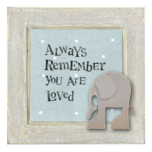 Always Remember You Are Loved: East Of India Always Remember You Are Loved Animal Picture