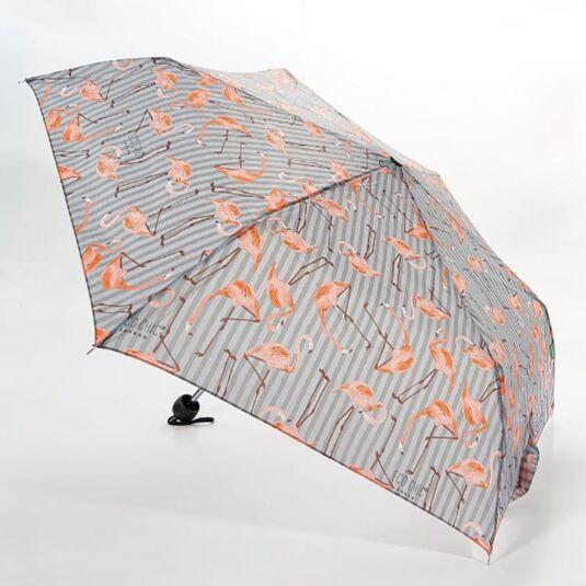 Eco Chic Flamingo Compact Umbrella