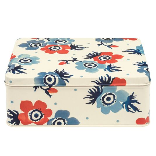 Anemone Deep Rectangular Tin