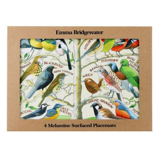 Garden Birds Melamine Placemats