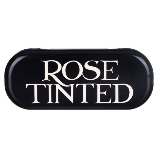 'Rose TInted' Black Toast Glasses Case