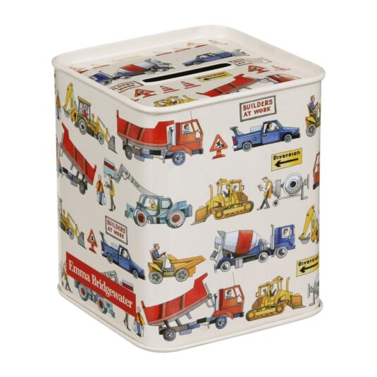 Builders at Work Money Box