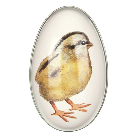 Medium 'Chick' Egg-Shaped Tin