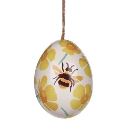 'Buttercups' Mini Egg-Shaped Tin