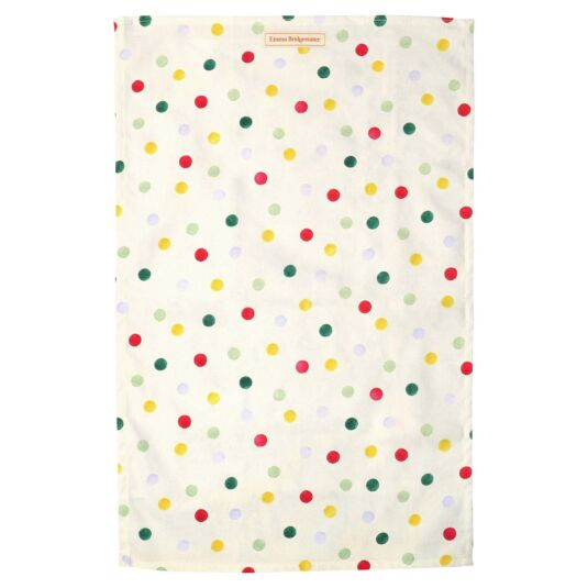 Polka Dot Tea Towel