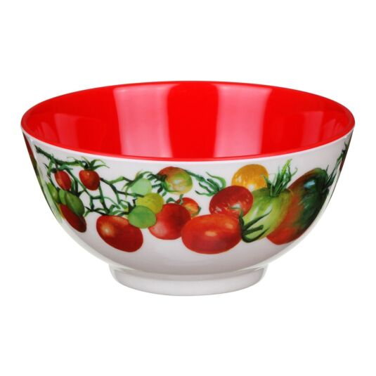 Vegetable Garden Two Tone Melamine Bowl