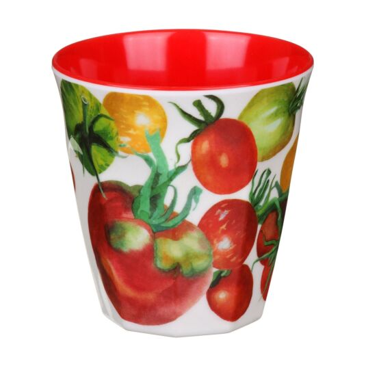 Vegetable Garden Two Tone Melamine Beaker