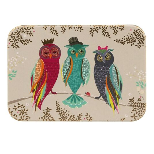 Owls Pocket Tin