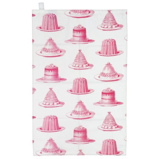 Jelly & Cake Tea Towel