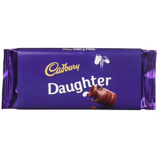 'Daughter' 110g Dairy Milk Chocolate Bar