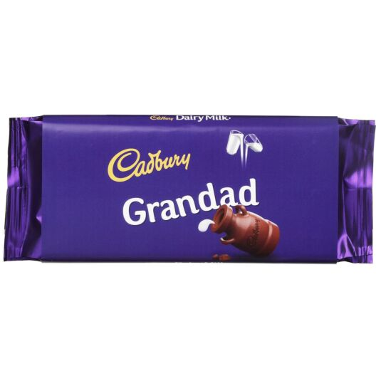 'Grandad' 110g Dairy Milk Chocolate Bar