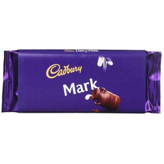 'Mark' 110g Dairy Milk Chocolate Bar