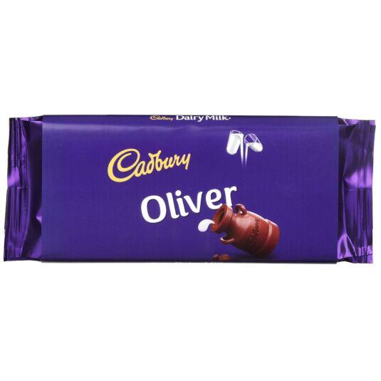 'Oliver' 110g Dairy Milk Chocolate Bar