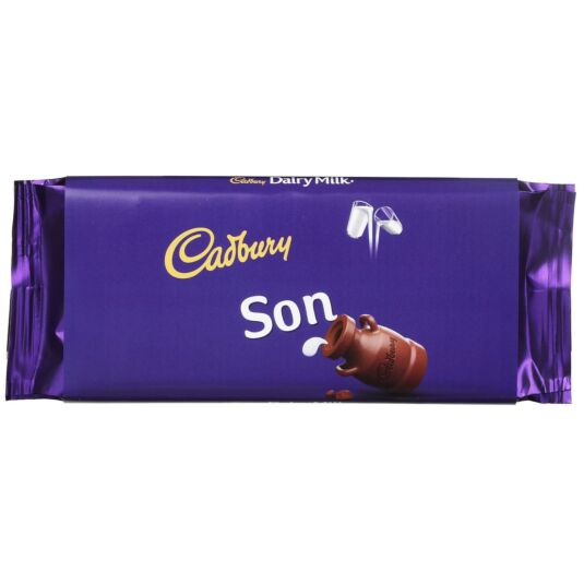 'Son' 110g Dairy Milk Chocolate Bar