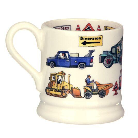 Emma Bridgewater Builders At Work One Pint Mug