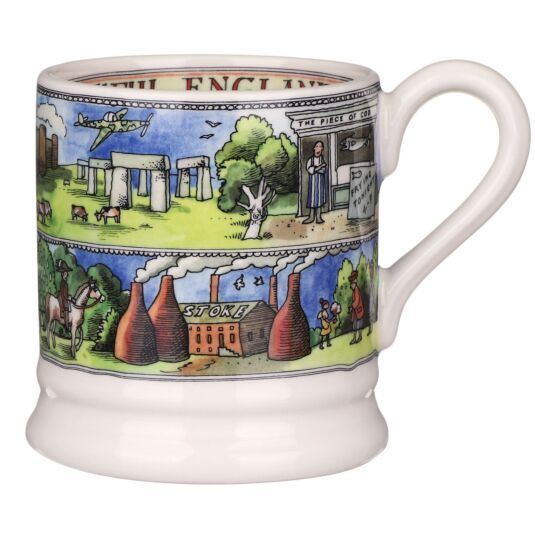 Beautiful England Half Pint Mug