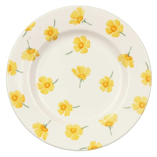 Buttercup Scattered 8 ½ Inch Plate