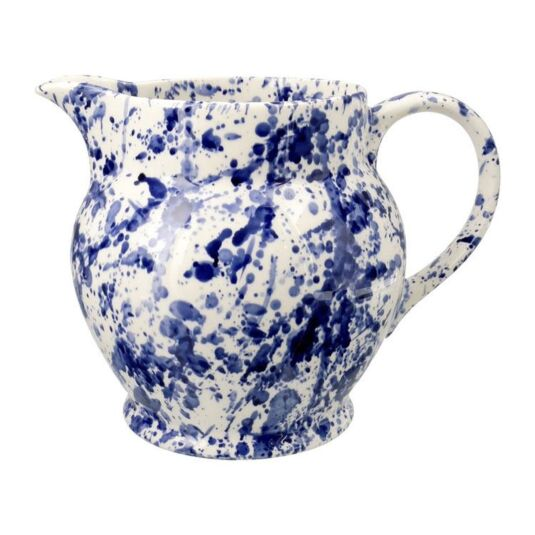 Blue Splatter Three Pint Jug