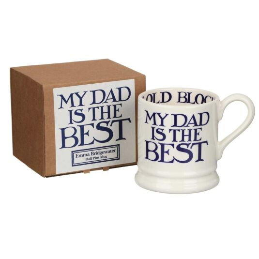 Blue Toast & Marmalade My Dad Is The Best Half Pint Mug