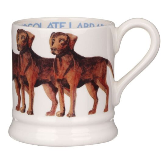 Chocolate Labrador Half Pint Mug