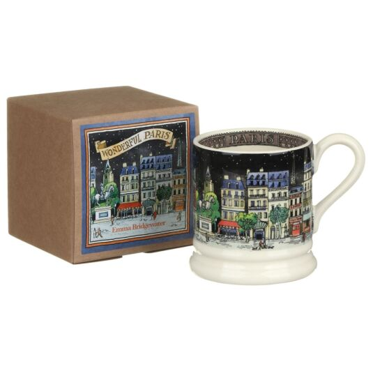 Paris Half Pint Boxed Mug