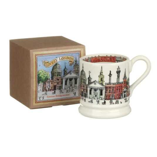 London Half Pint Boxed Mug