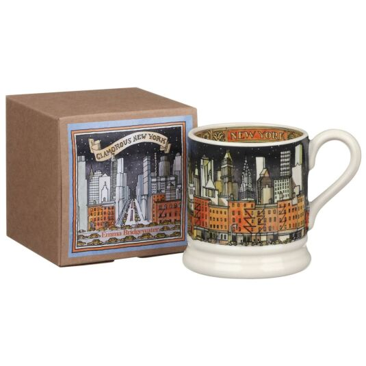 New York Half Pint Boxed Mug
